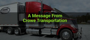 Crowe Transportation Covid-19